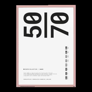 Bilde av Paper Collective - Frame pink 50x70