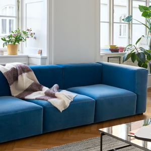 Bilde av Hay - Mags Soft 3 seter - Lola Blue tekstil