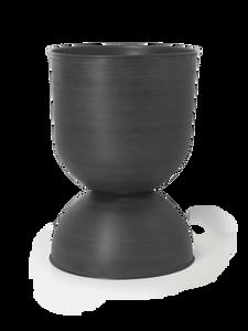 Bilde av Ferm Living - Hourglass Pot - Black - Large