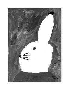Bilde av Fine Little Day - Rabbit With Small Hat 40x50